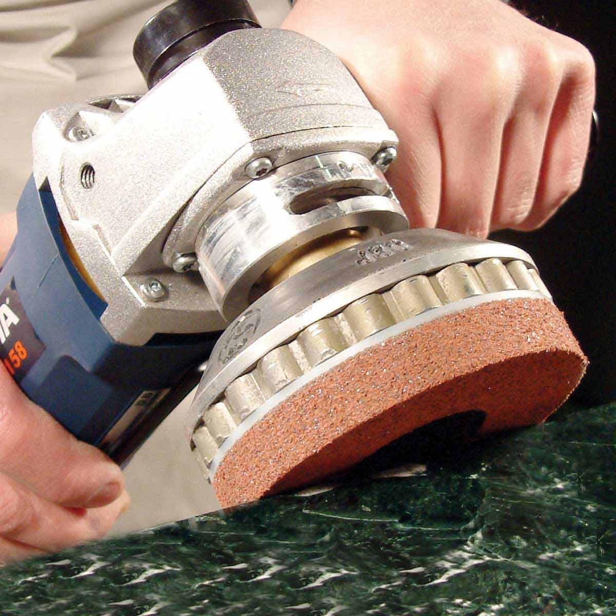 Alpha PVA Quick Change Pad for Polishing Stone