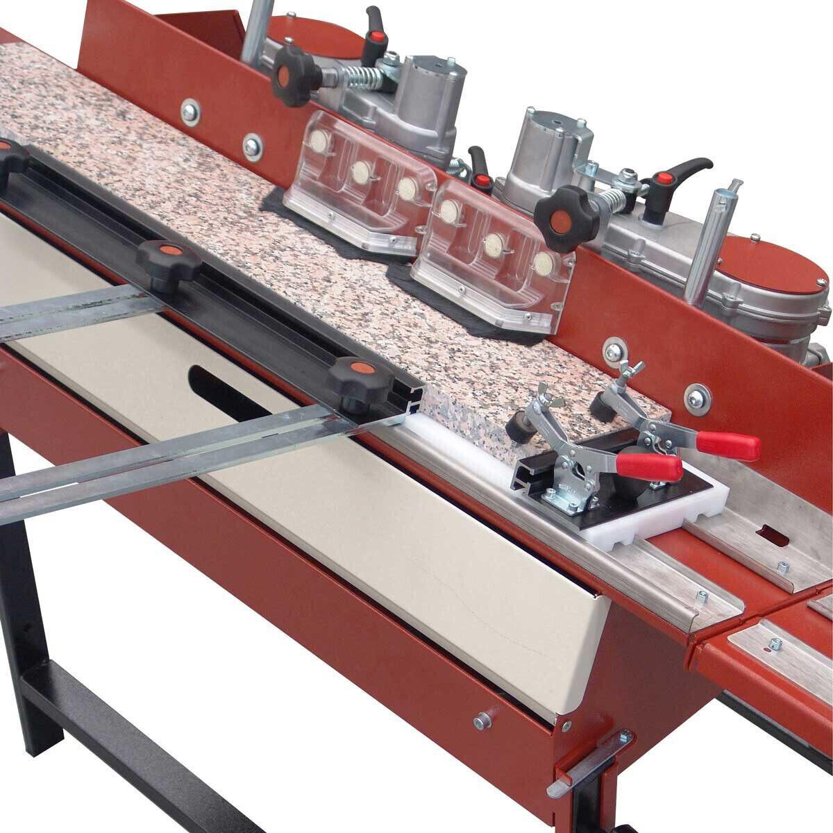 Raimondi Dual-Head Bulldog Machine Polishing Stone