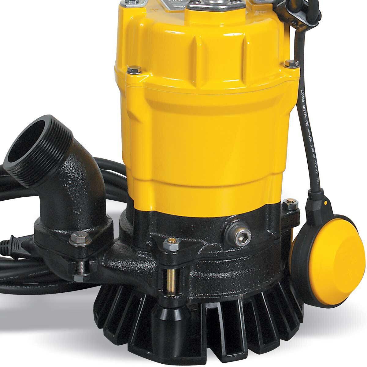 Wacker PSTF2-400 Pump Discharge port