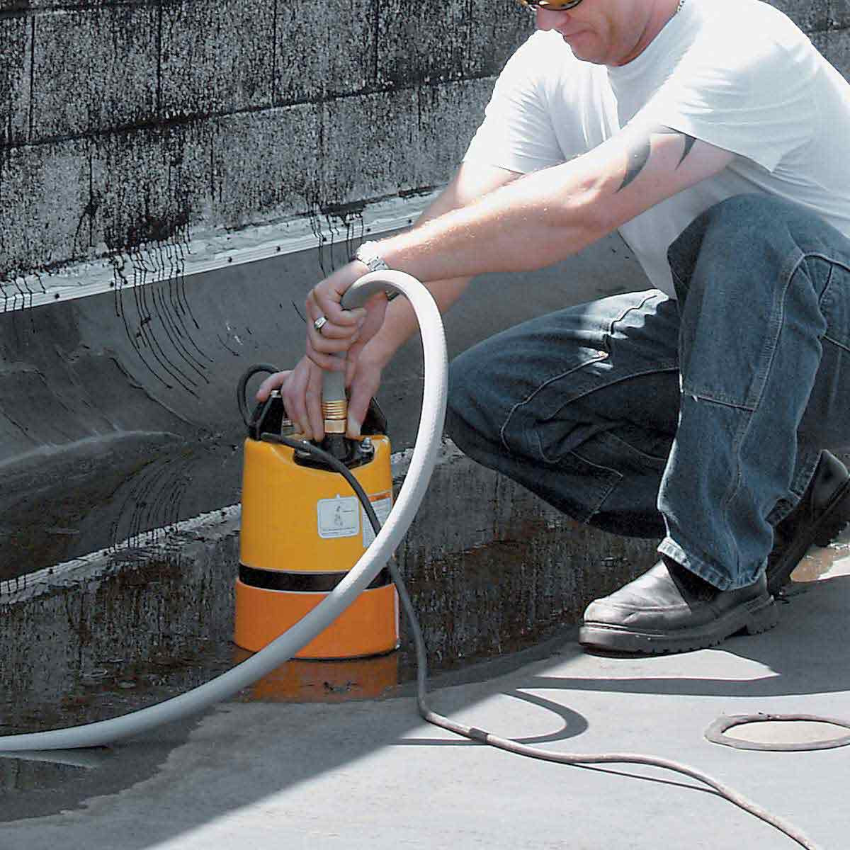 Wacker PSR1500 De-Watering Pump