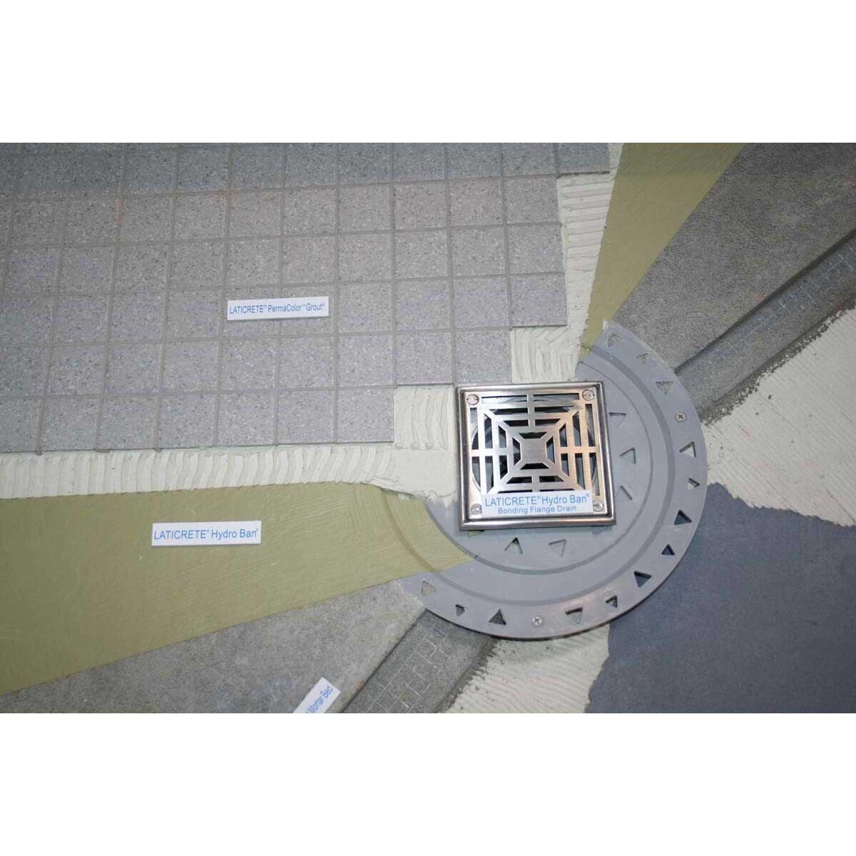Hydro Ban Pre-sloped Shower Pan Center Drain