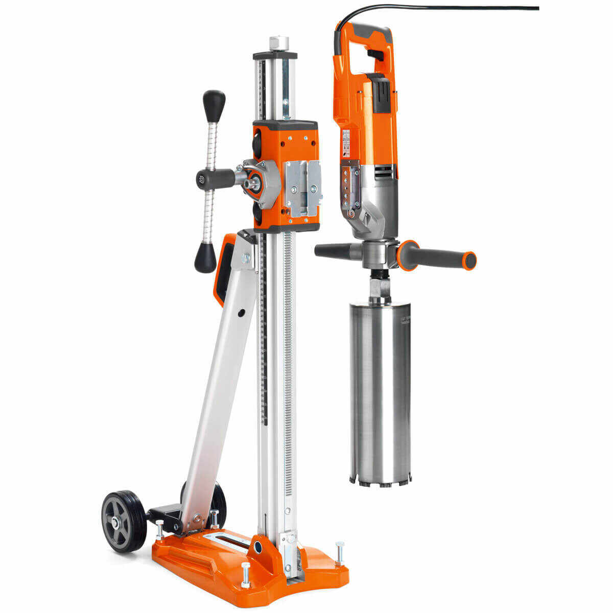 Husqvarna DM 220 Core Drill Motor with Optional Stand