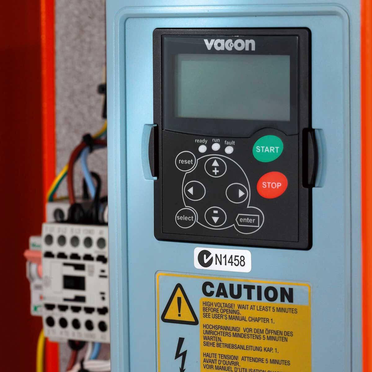 PG 530 Control Panel