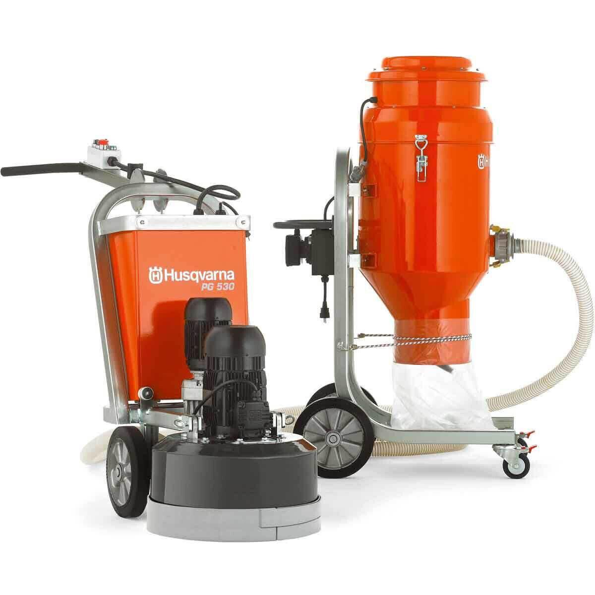 PG 530 Grinder and Vacuum