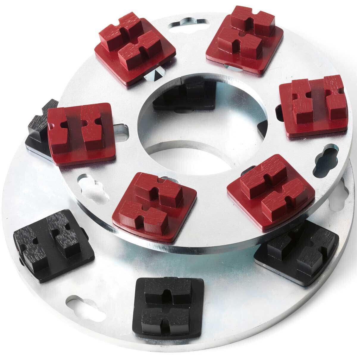 G620 Diamond Segments on Husqvarna PG Floor Machine
