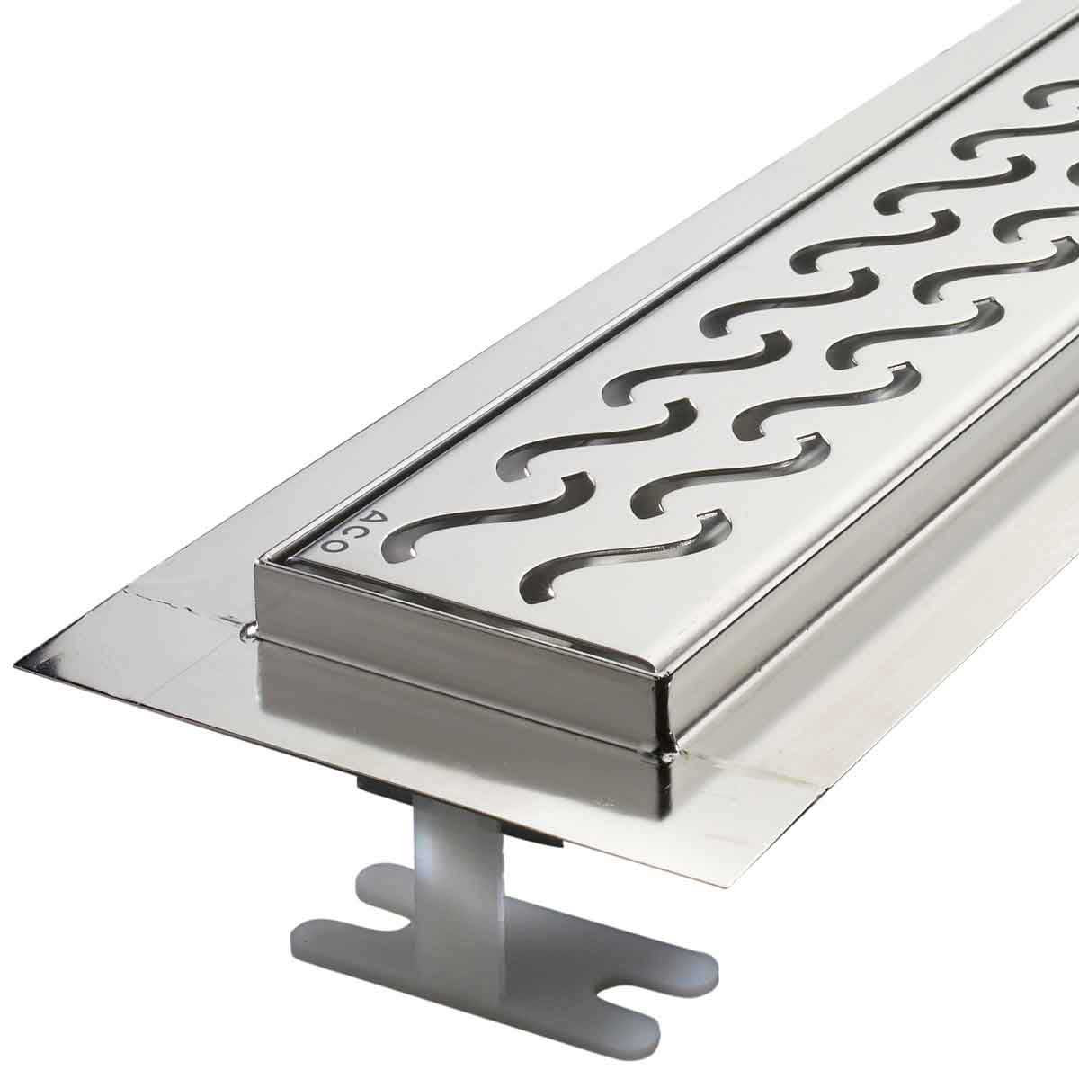ACO Flange Edge Shower Linear Drain