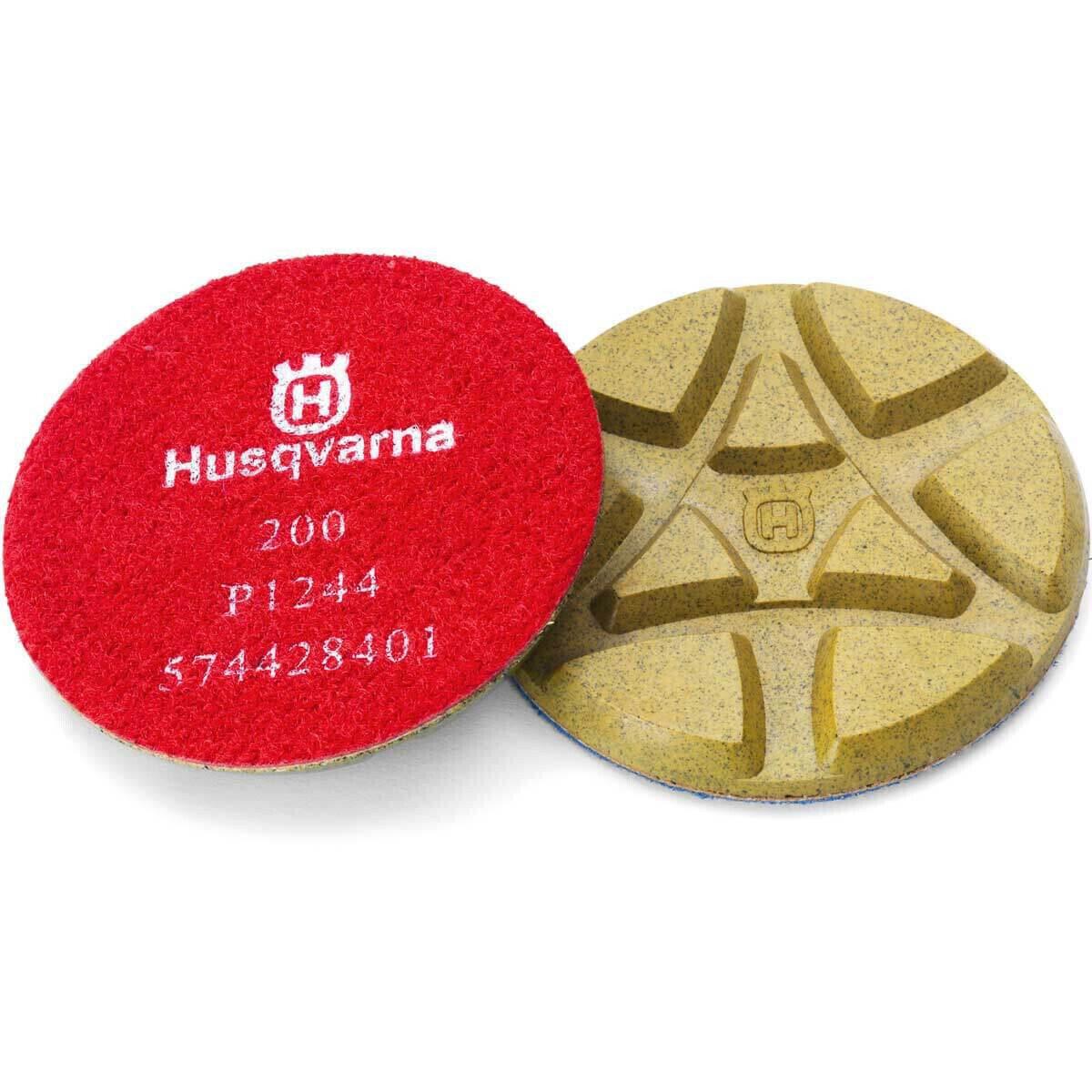 Husqvarna 3 inch P1200 Dry Resin Diamond Pads