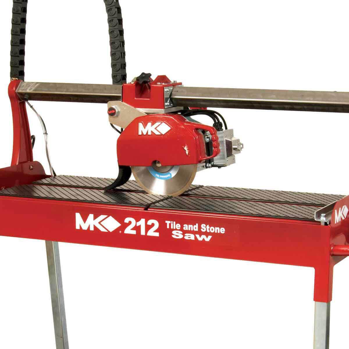 MK 212 Wet Stone Rail Saw Side