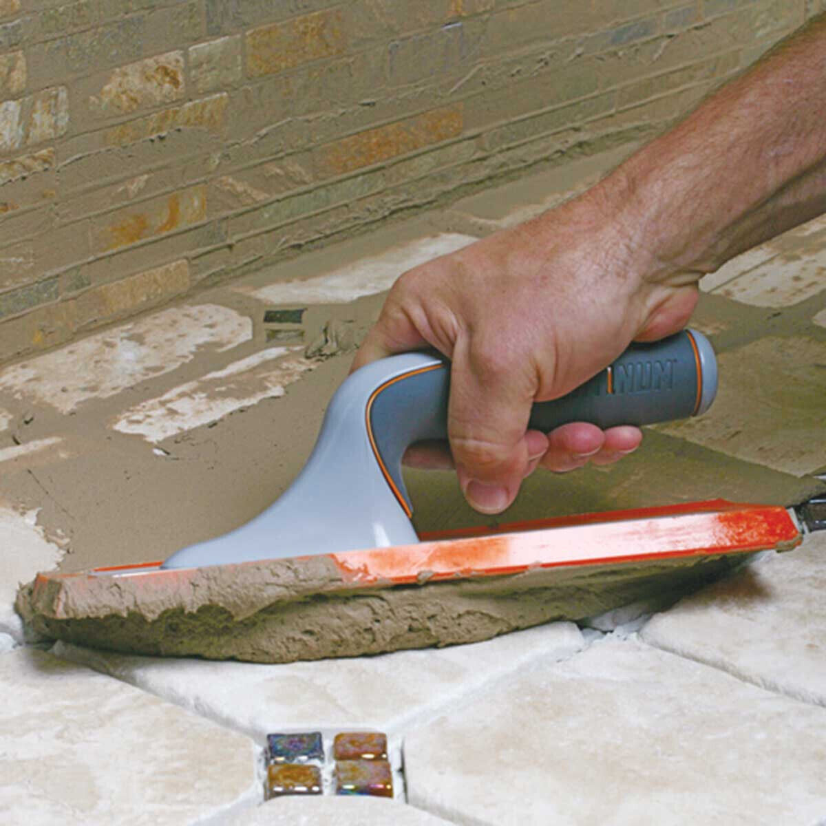 SuperiorBilt Platinum Grout Float In Use