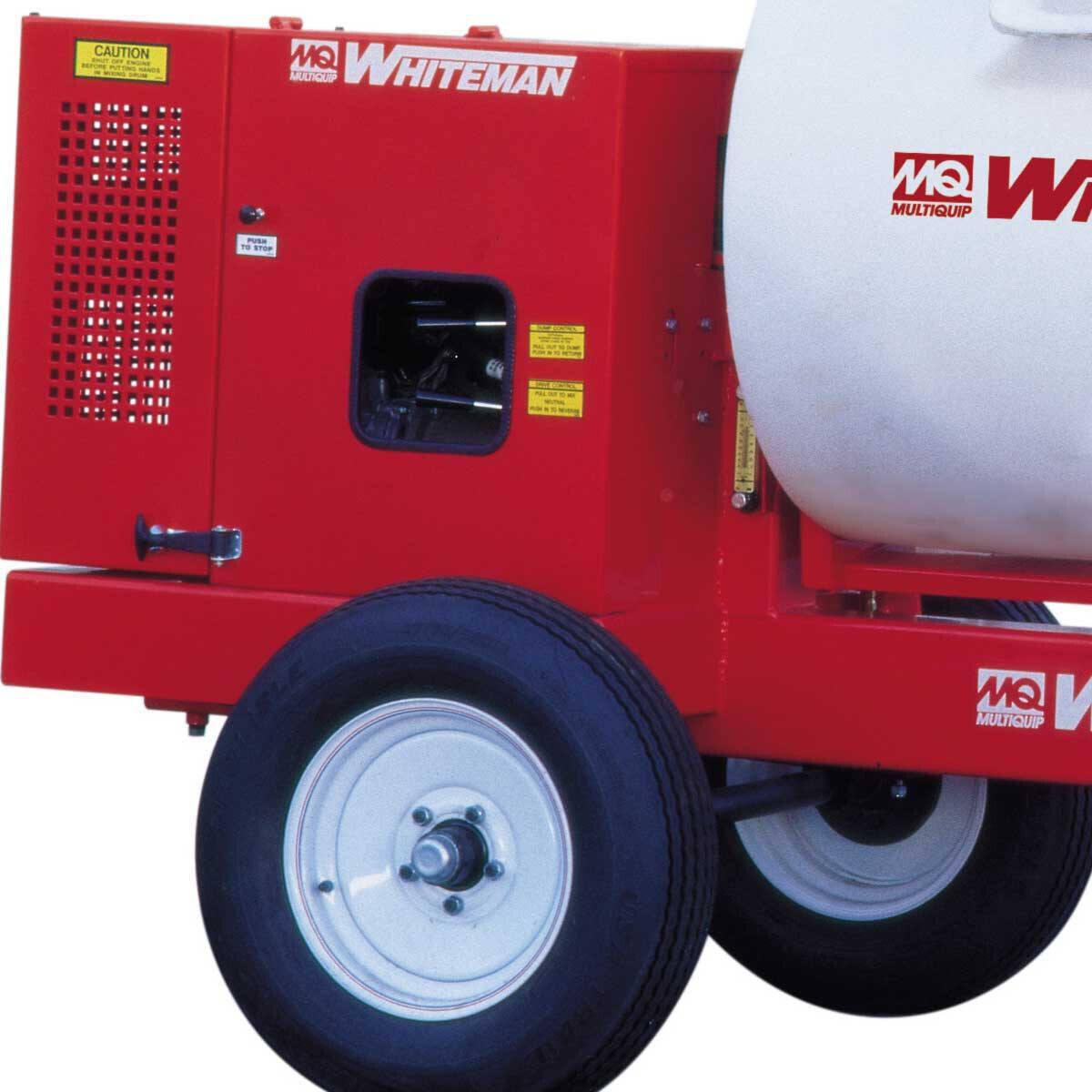 Multiquip Drum Mortar Mixer Wheels