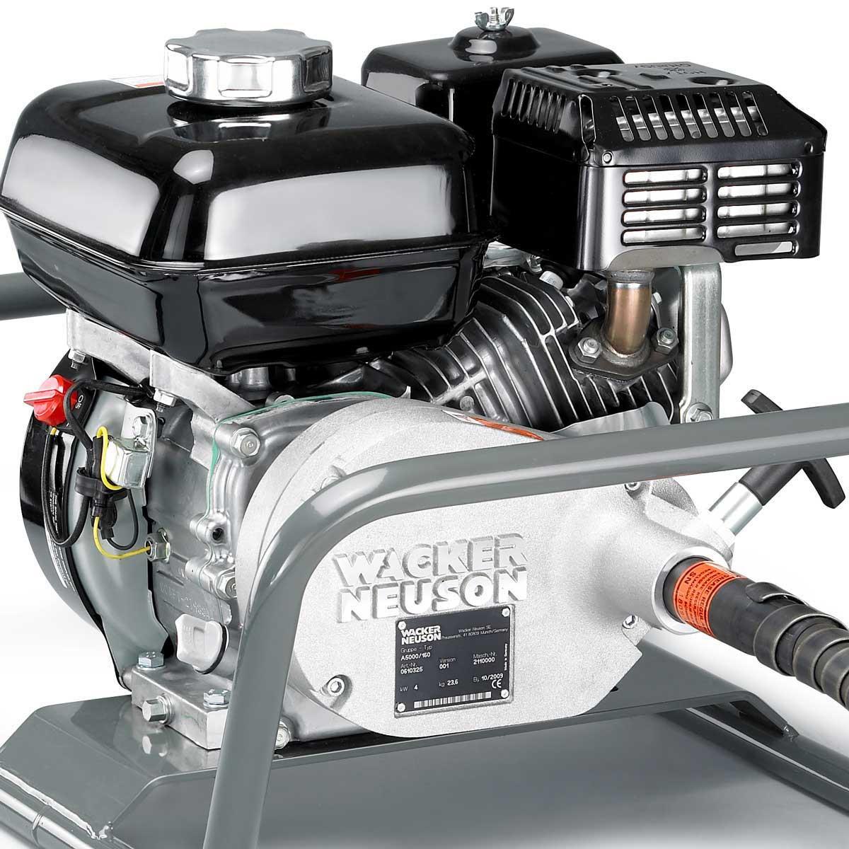 Wacker Neuson A5000 Concrete Vibrator Honda gas engine