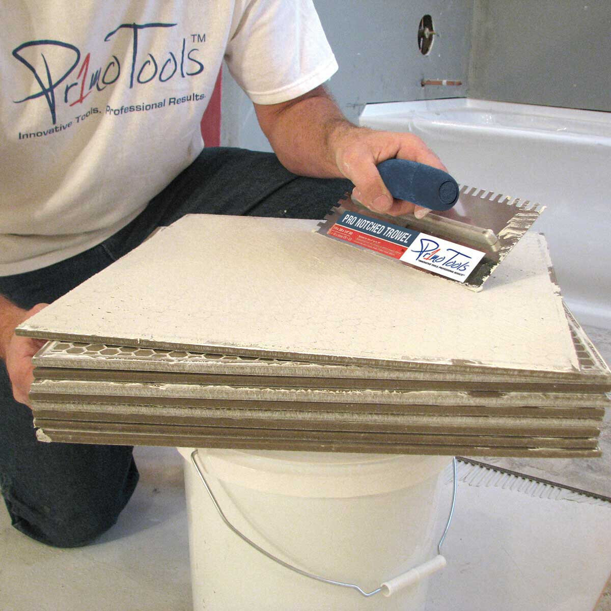 Back Butter Buddy for Complete Tile Coverage