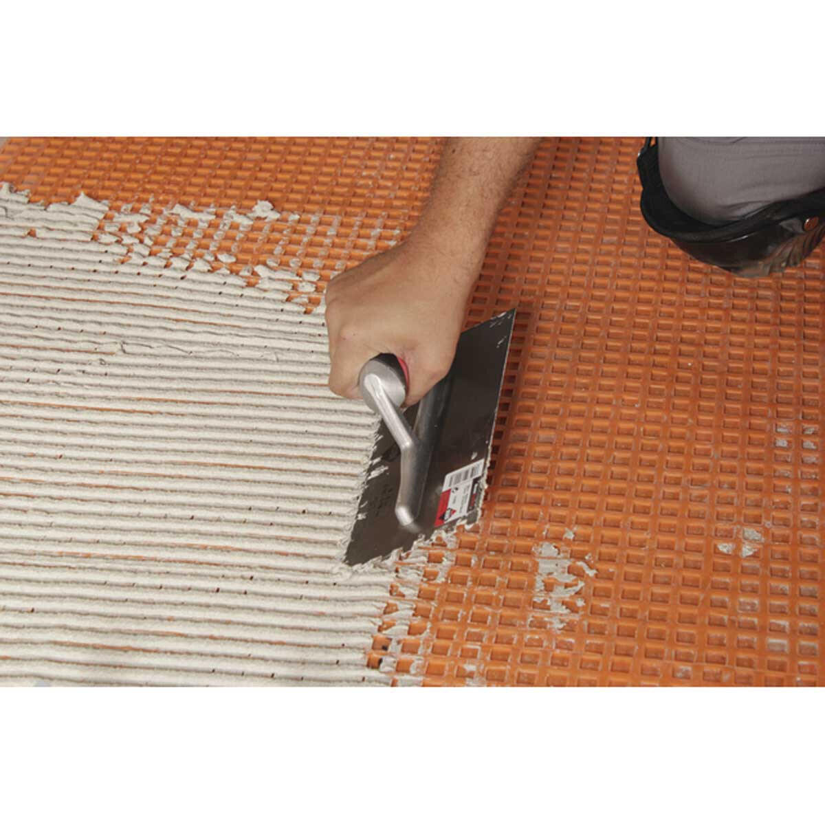 Rubi Notched Trowels for Schluter Uncoupling Membrane