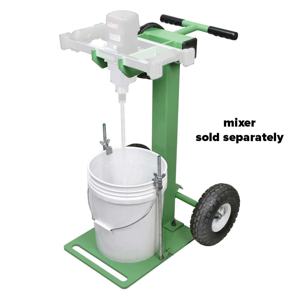 CS Unitec Eibenstock 25GP-WD Portable Mixing Stand Holds 5 gallons pails
