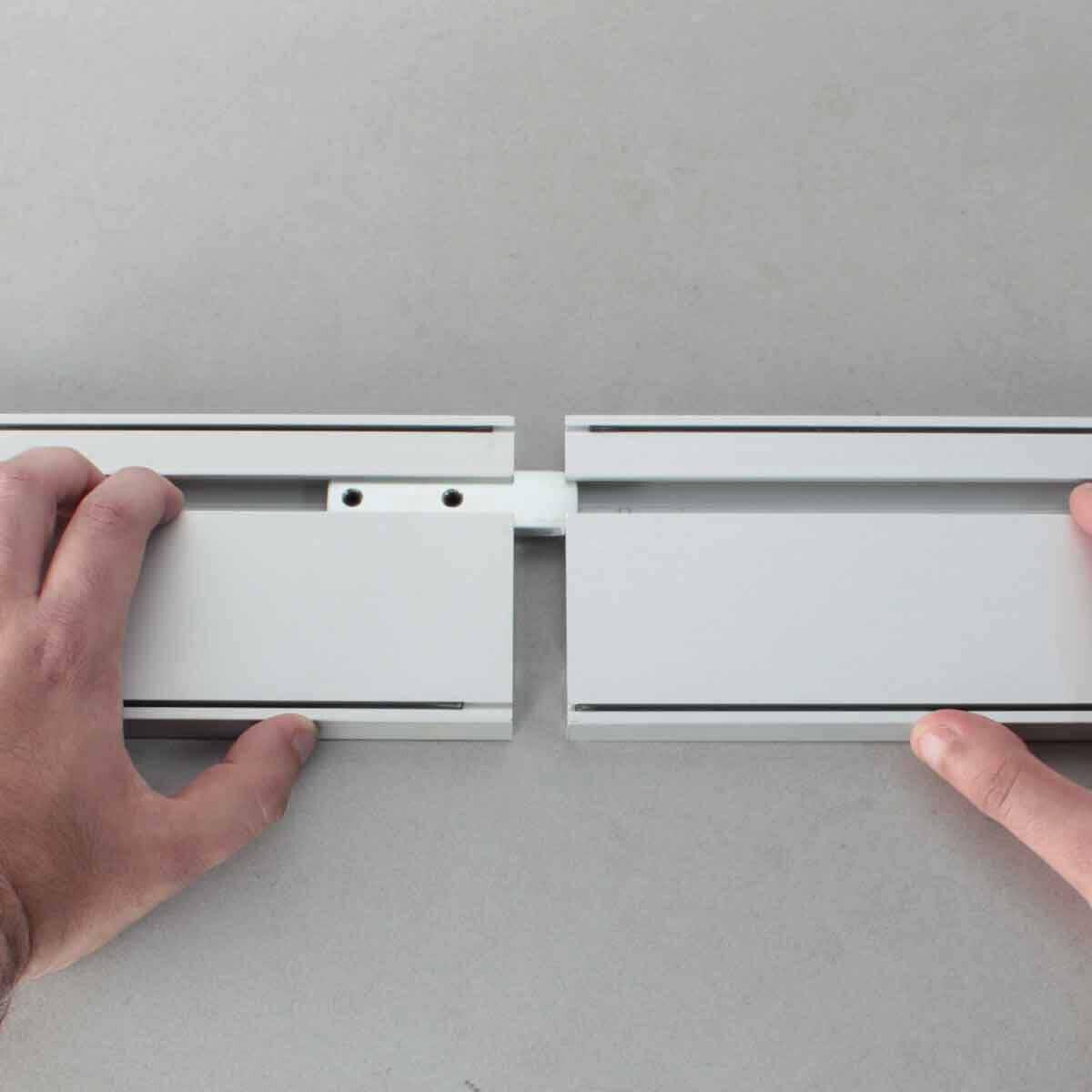 rubi slim cut rail assembly clip