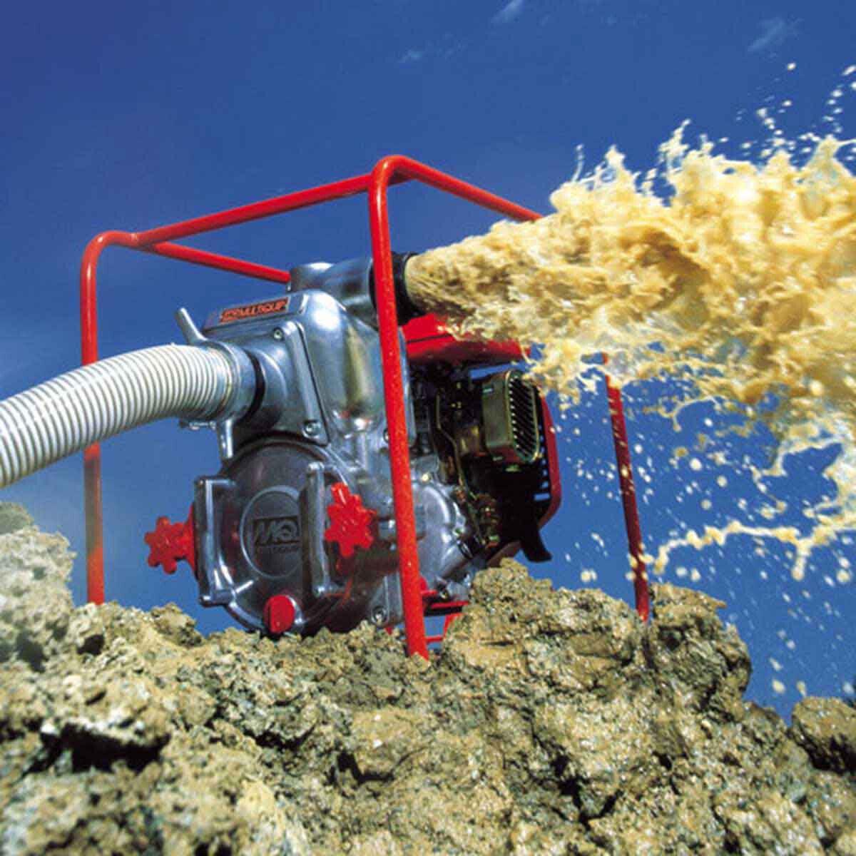 Multiquip QP3TH Pumping Water