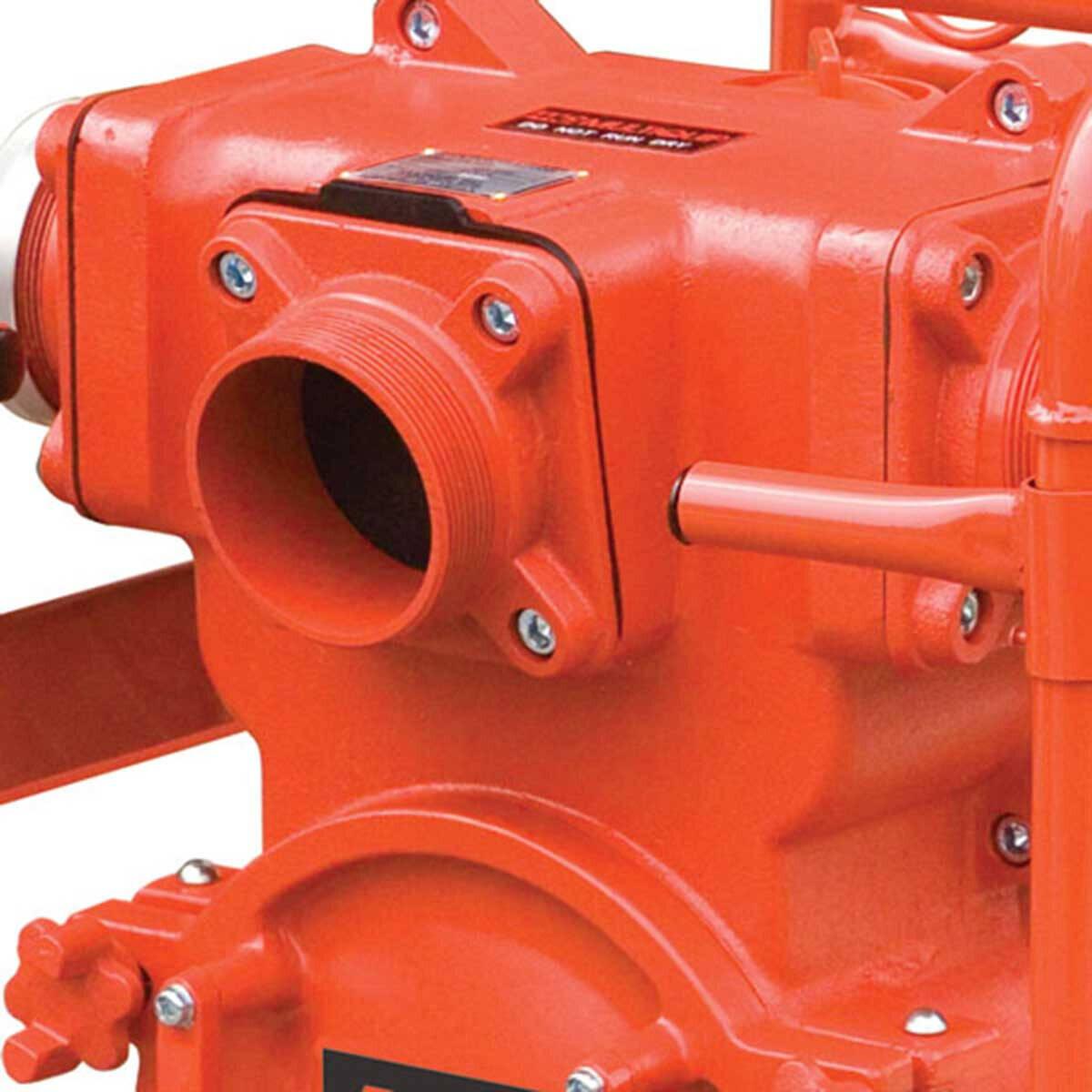 Multiquip QP4TH Pump Discharge Port