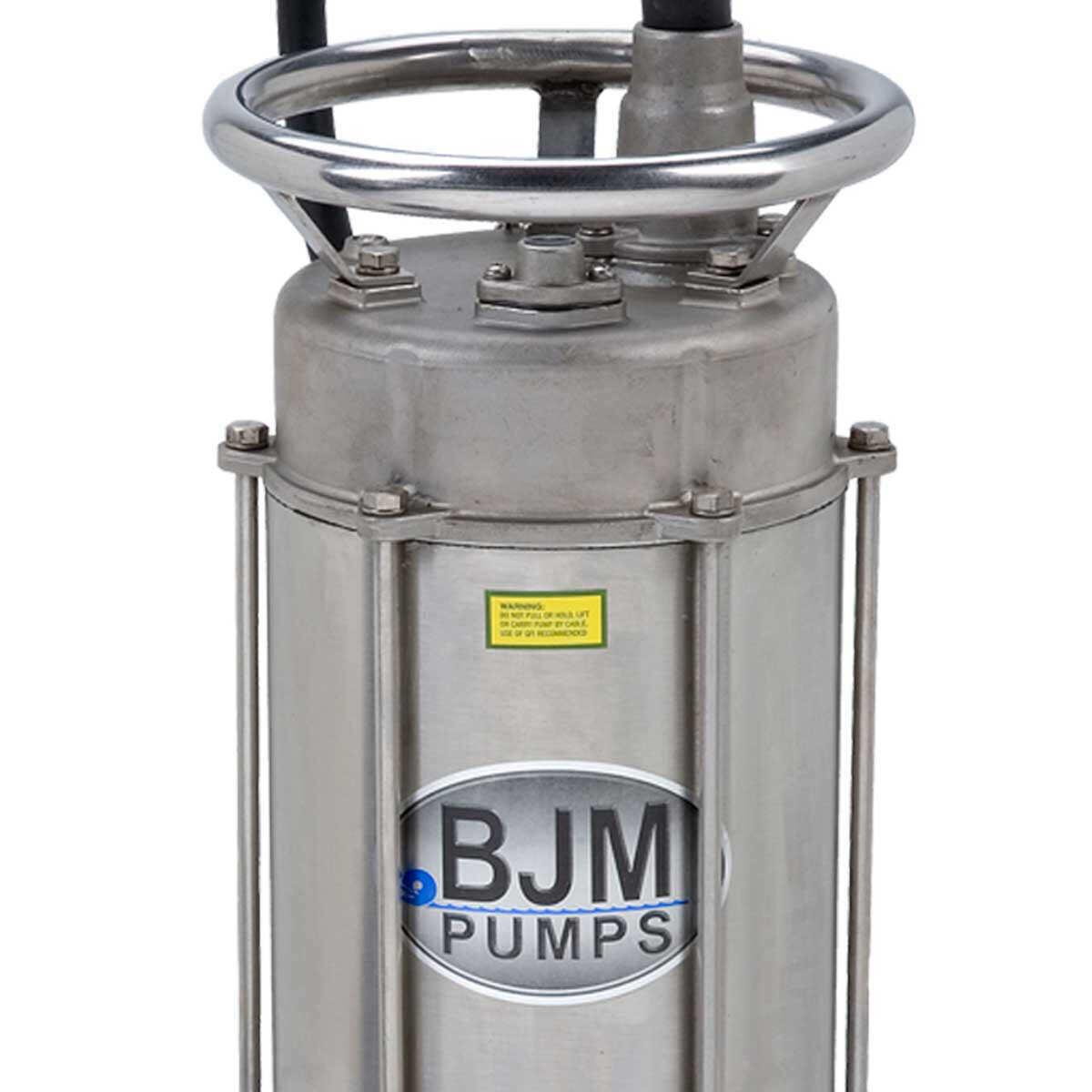 BJM JX750SS-115 Stainless Steel Pump