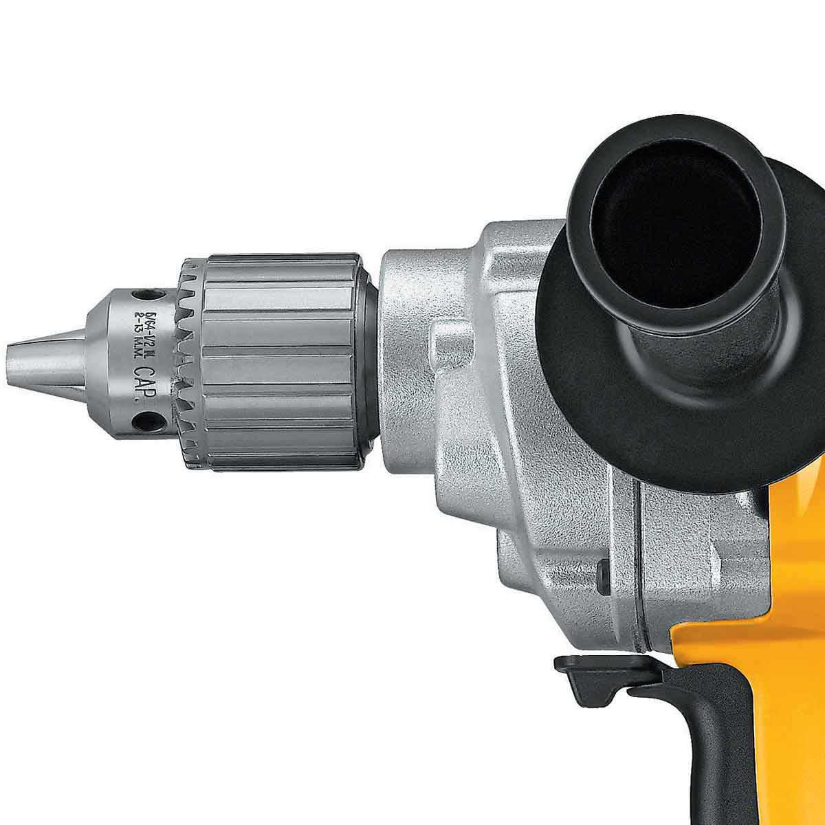 DW130V Dewalt 1/2 in. Mortar Mixing Drill heavy duty industrial chuck for mixing mortar without air into the mix for mud