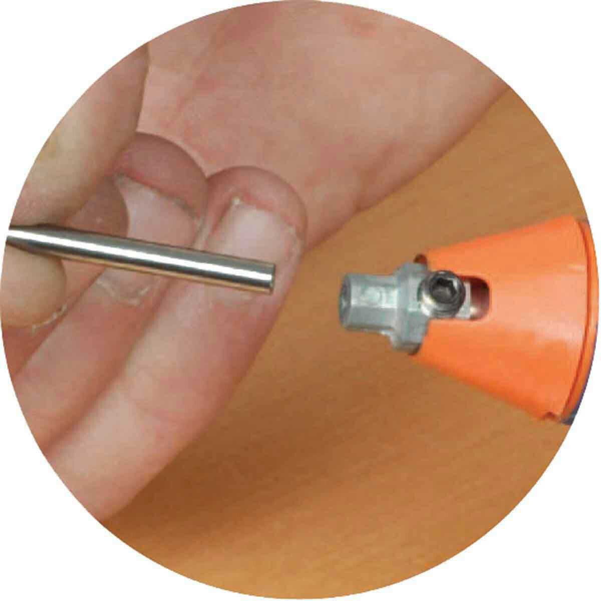 Vitrex grout tool tip install