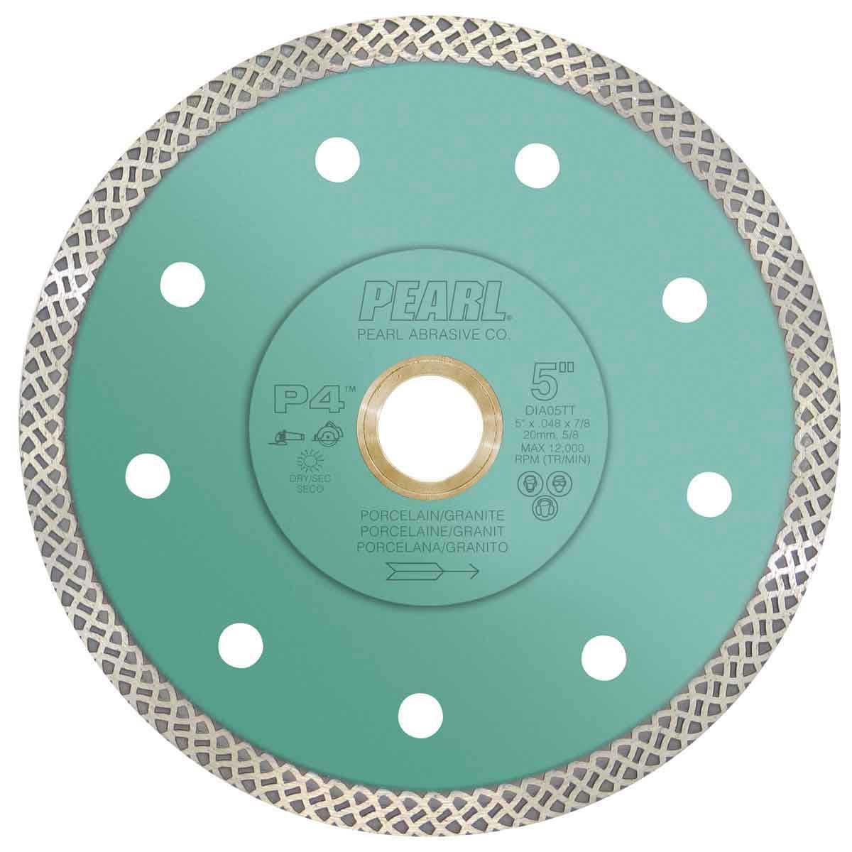 Pearl P4 Turbo Mesh Diamond Blade