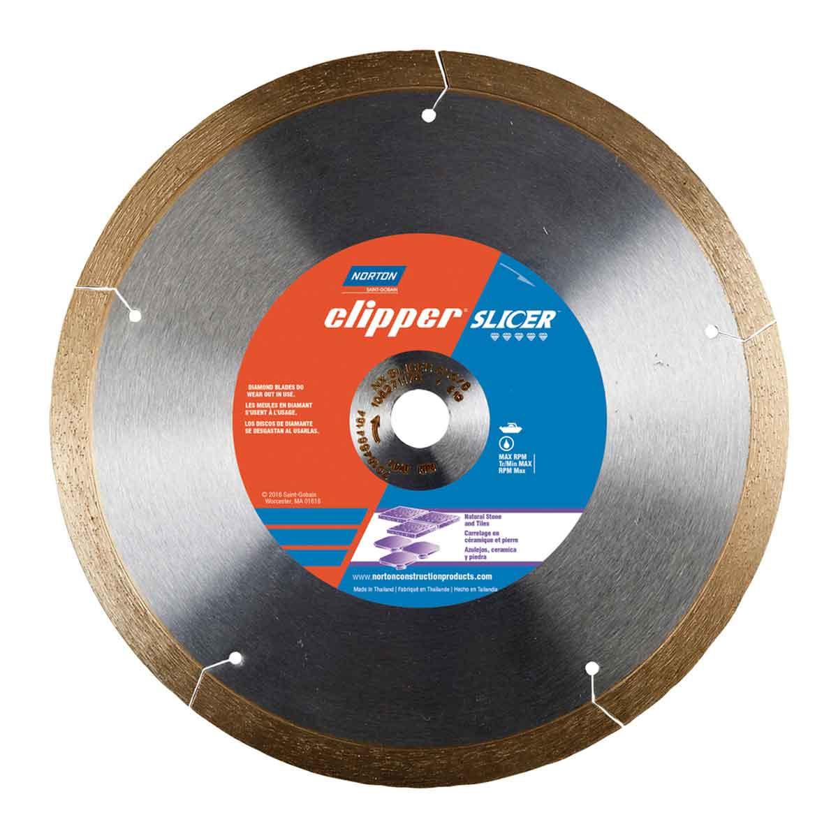 Norton Clipper Slicer Diamond ceramic tile Blade