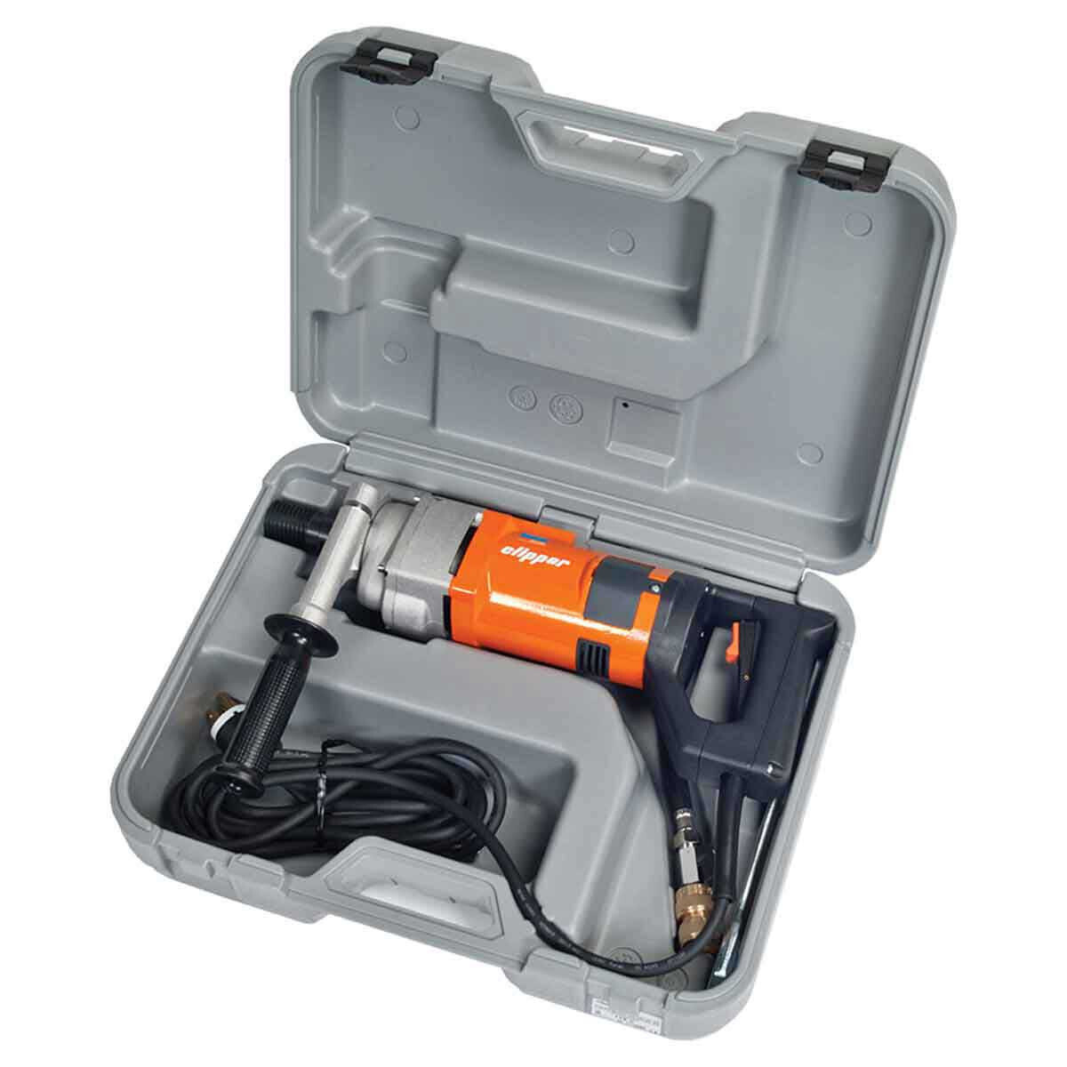 Norton Clipper HHDET1800 Core Drill with Carrying Case
