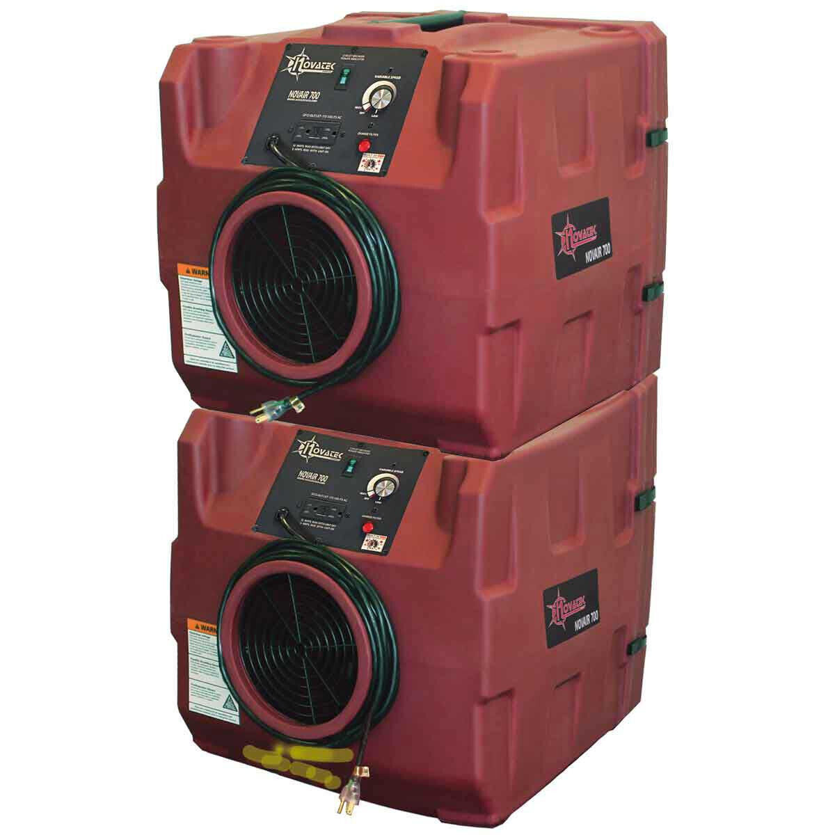 Stacked F0700 Air Filtration Unit