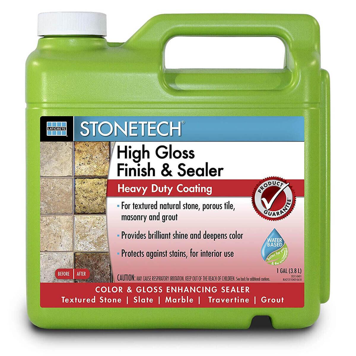 Stone Tech High Gloss Finishing Sealer - 1 Gallon
