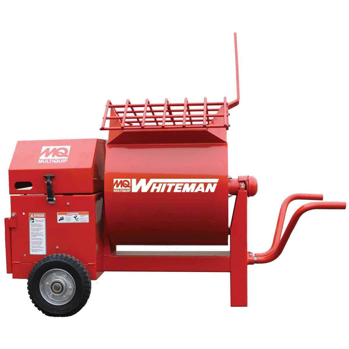 Whiteman Wheelbarrow Style Mixer Side