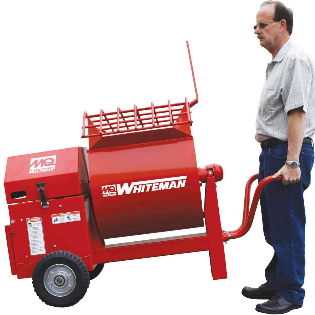 Hand Tow Mortar Mixer