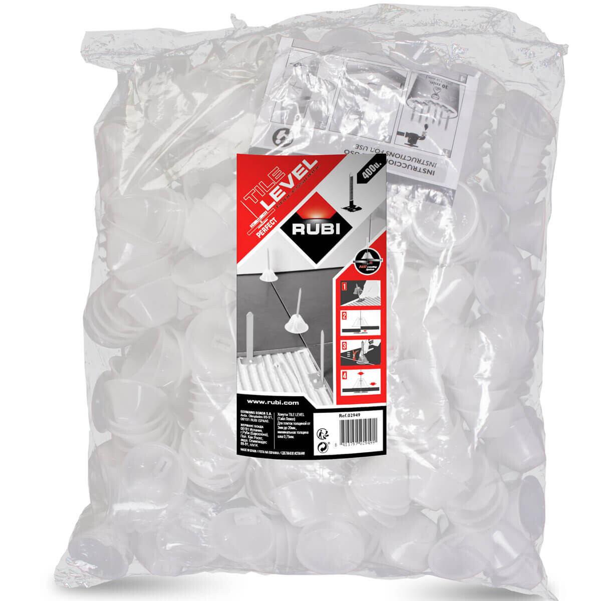02980 rubi tools caps bag, easy ceramic tile or stone tile installation lippage free