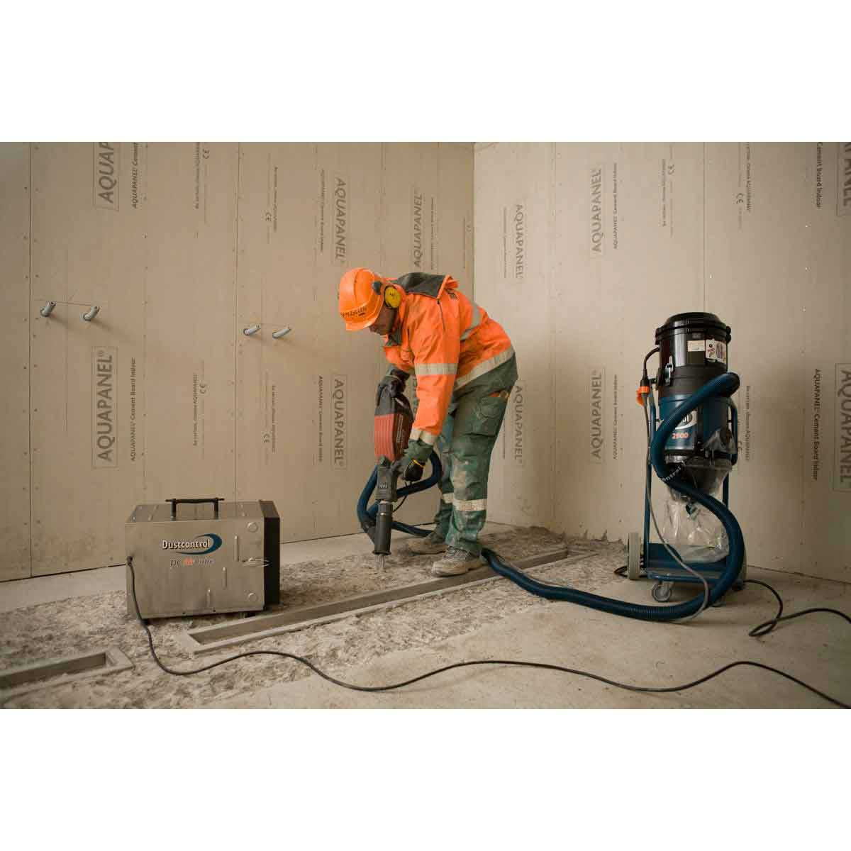 Demolition Hammer with Dustcontrol Extractor