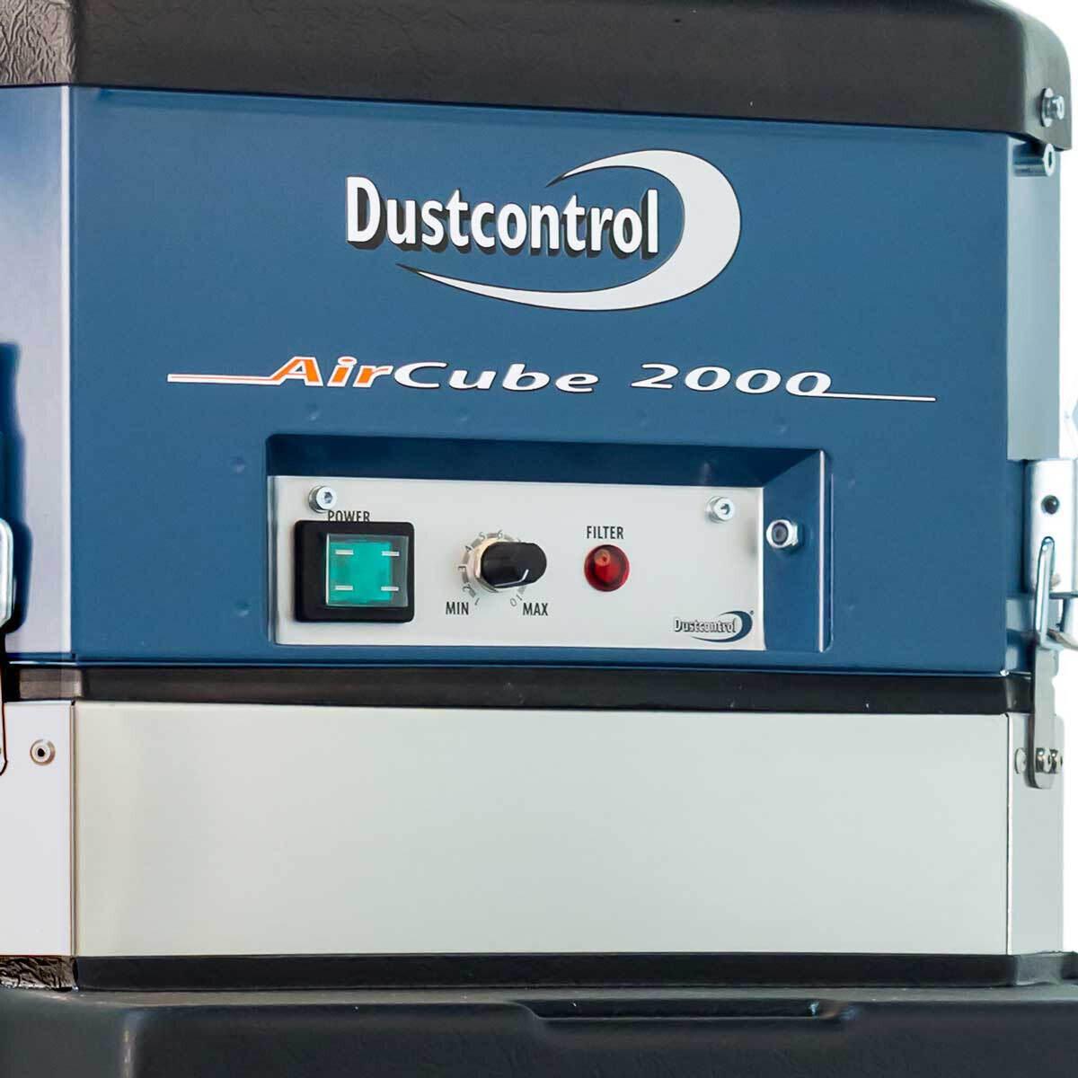 DC AirCube 2000 Control Panel