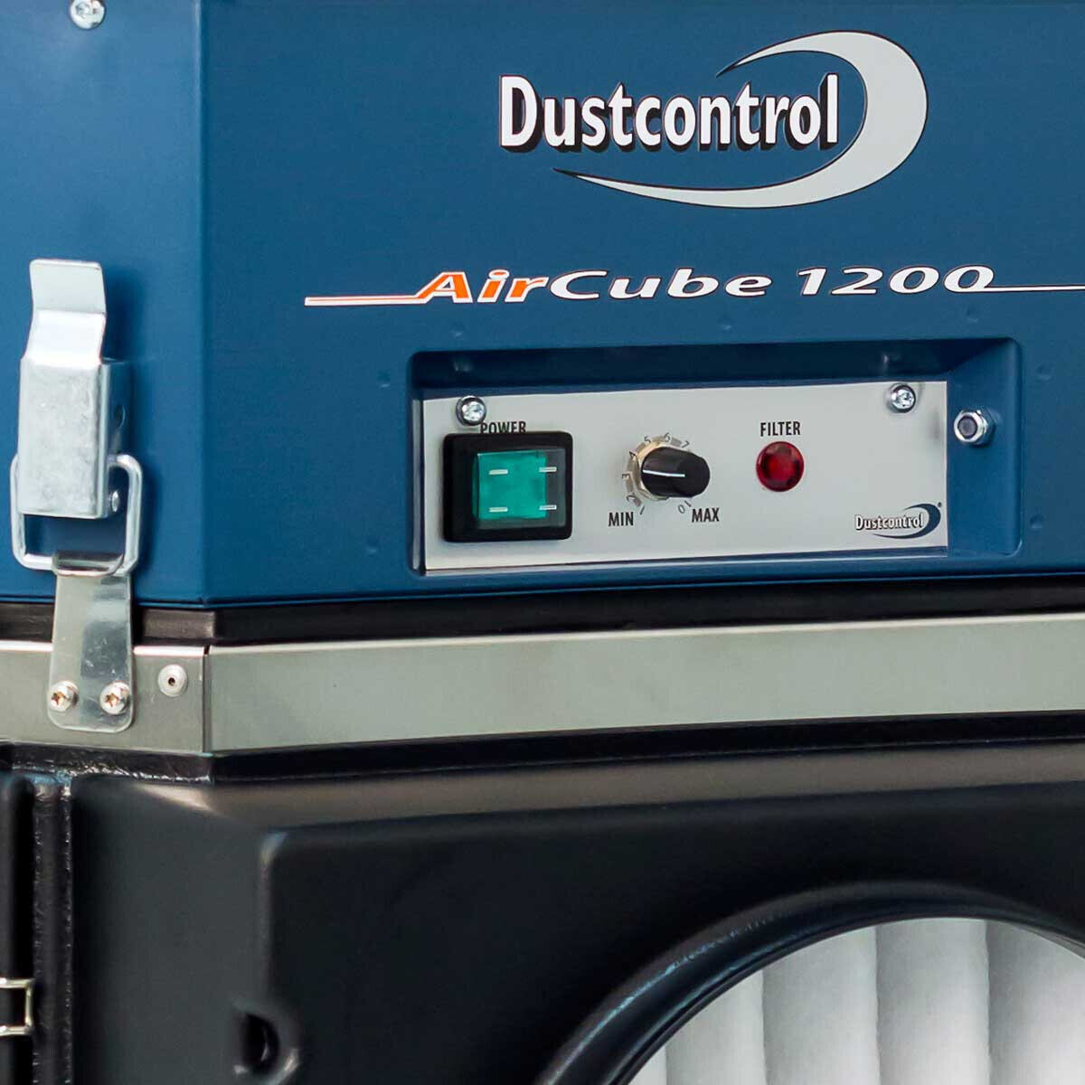 DustControl DC AirCube 1200 Control Panel