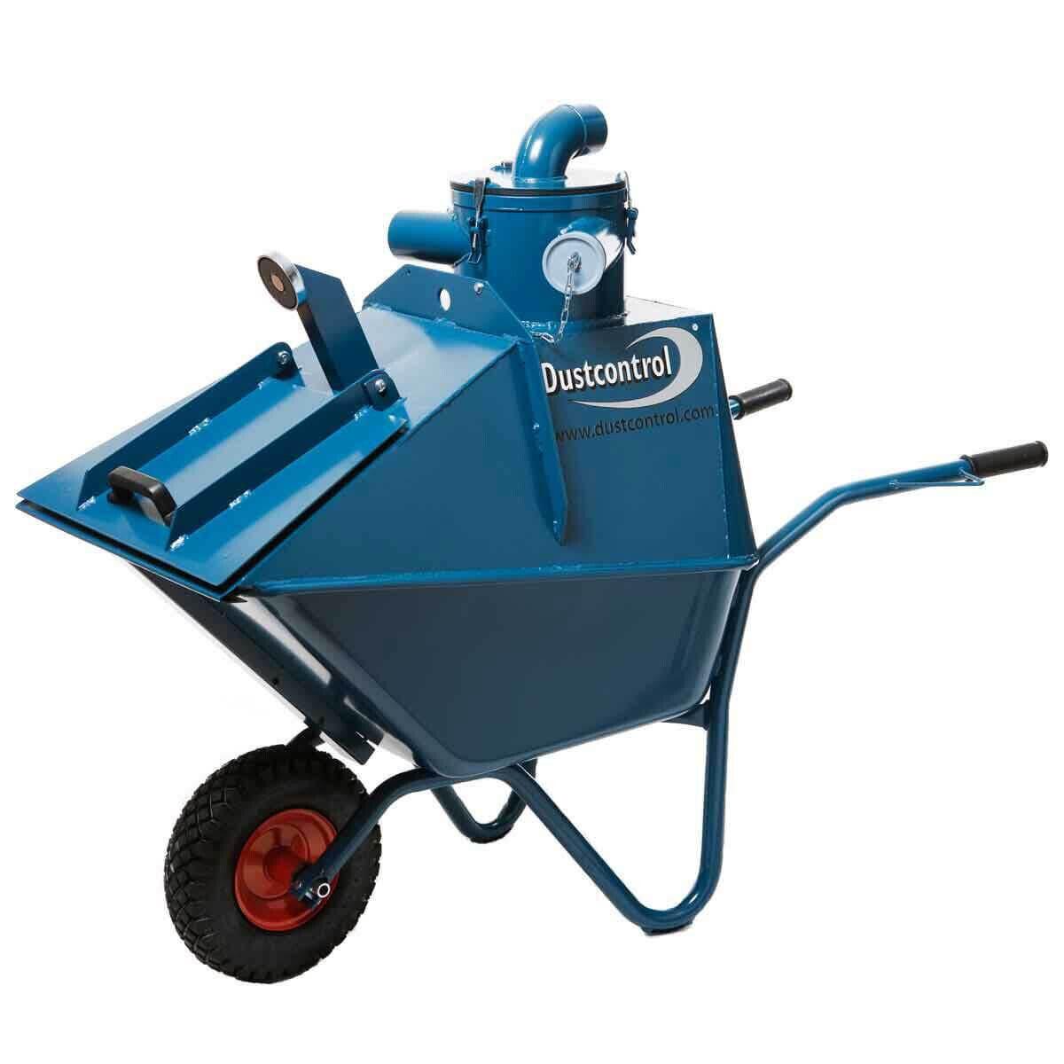 DCFWheelbarrow DustControl Mobile Pre-Separator