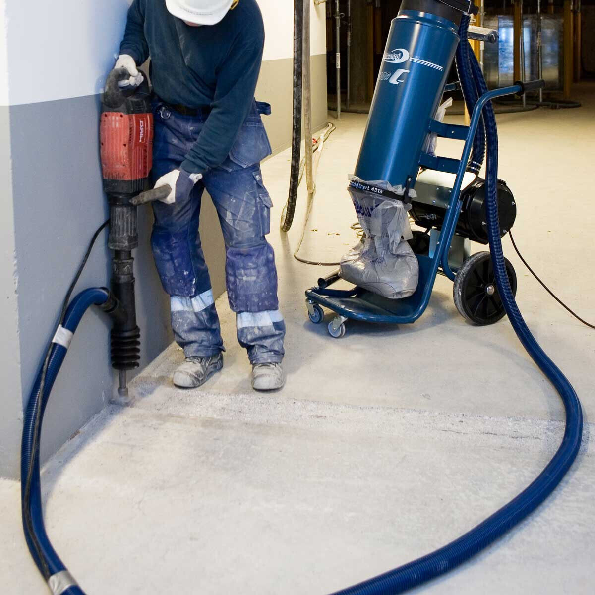 Dust Collection Suction Casing