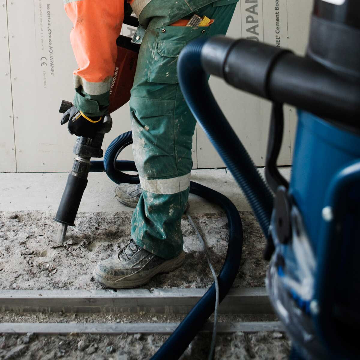 Suction Casing for Hammer Drills