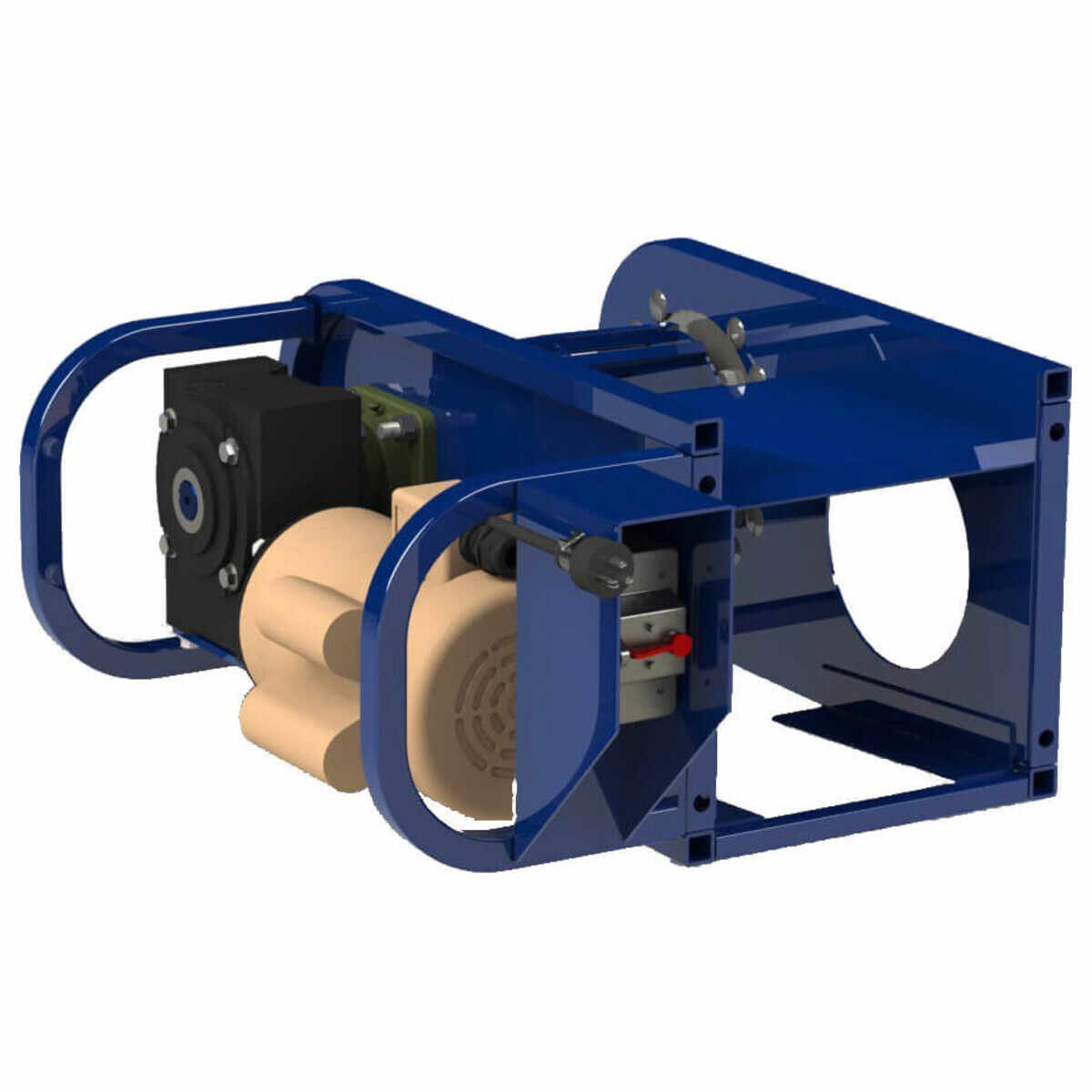 Heavy Duty 1-1/2 Hp Electric Motor for Conveyor