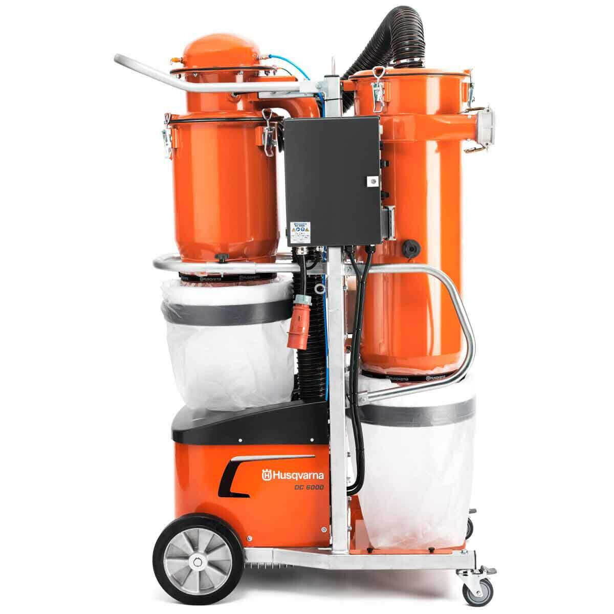 Husqvarna Industrial Dust Collector with Longopac