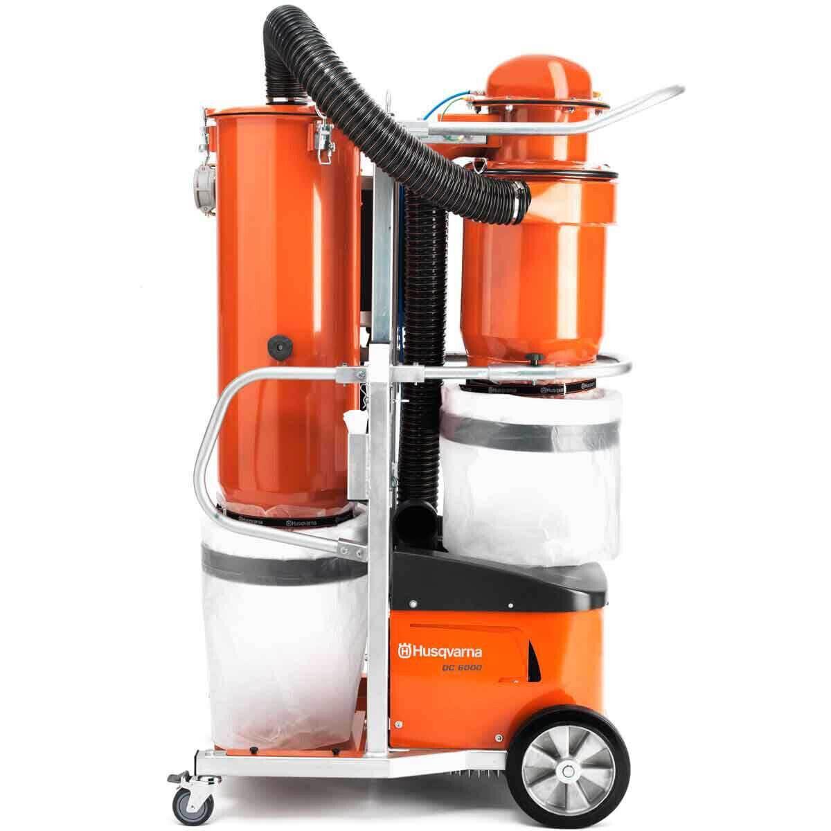 Husqvarna DC6000 Mobile Concrete Dust Extractor
