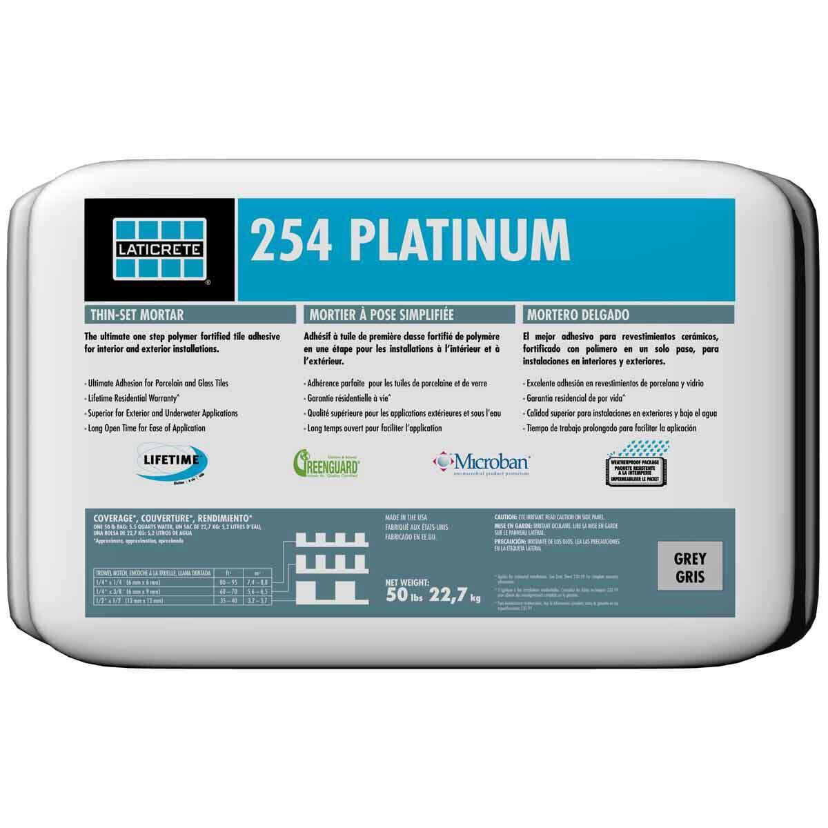 Laticrete 254 Platinum mortar