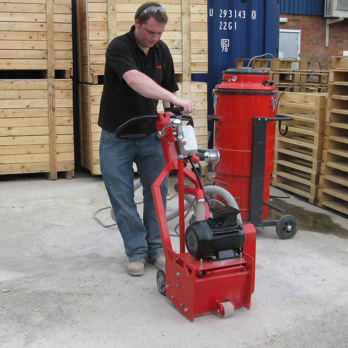 Trelawny TFP260 Gas Floor Scarifier 326.2000T