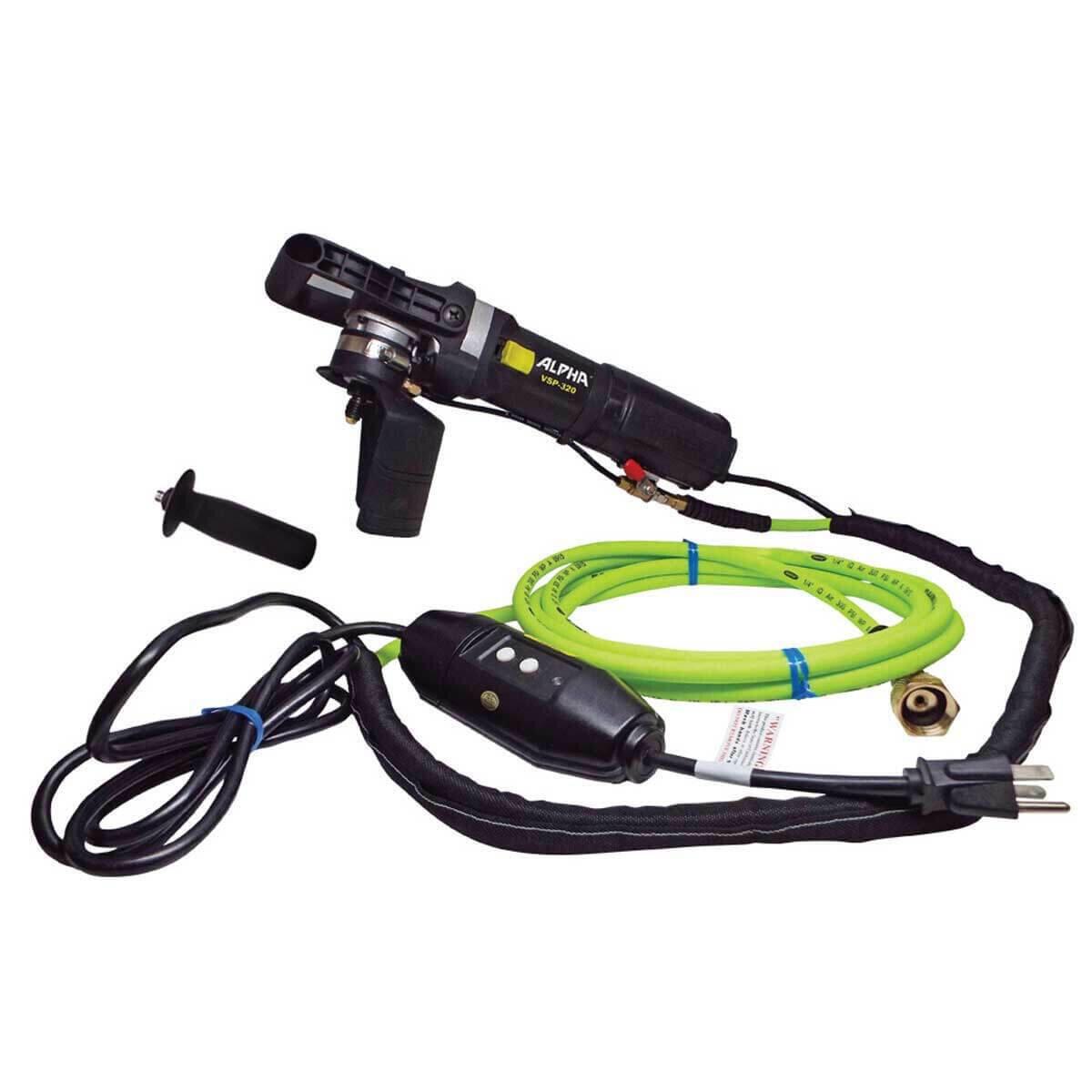 Alpha VSP-320 Polisher with Hose and GFCI Plug
