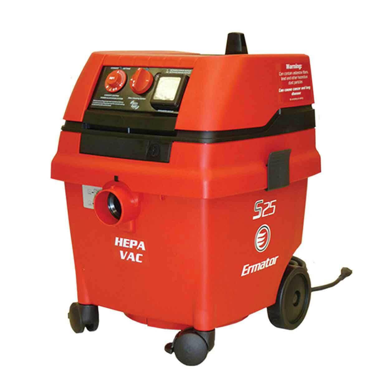 Pullman-Holt Wet Dry S25 HEPA Vacuums