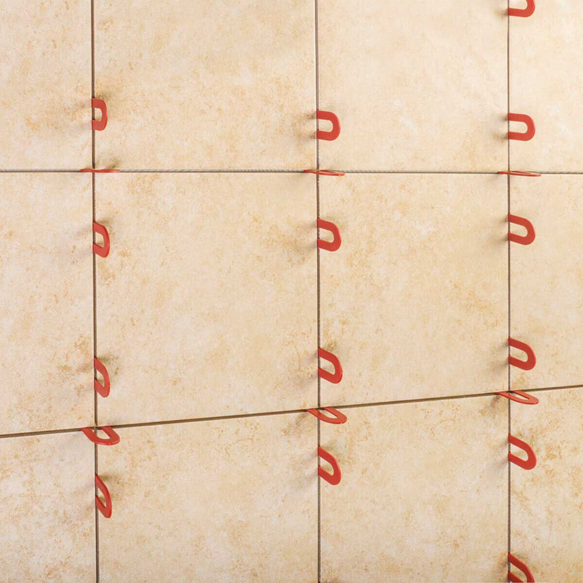 Leveling Shower Tile with Plastic Shims