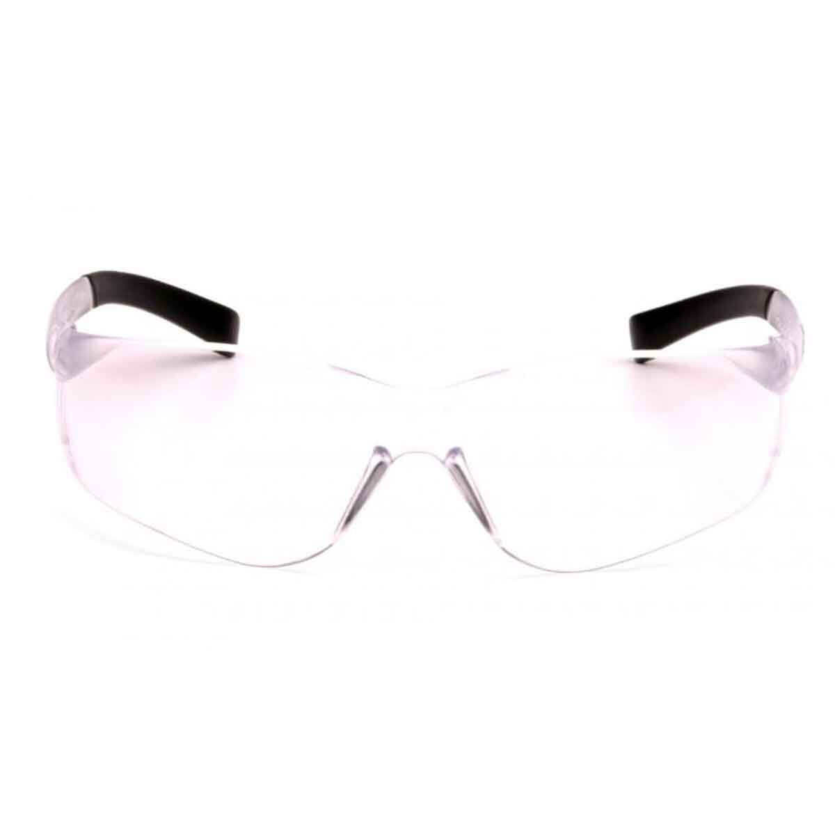 Pyramex Ztek Eye Protection Safety Glasses Front View