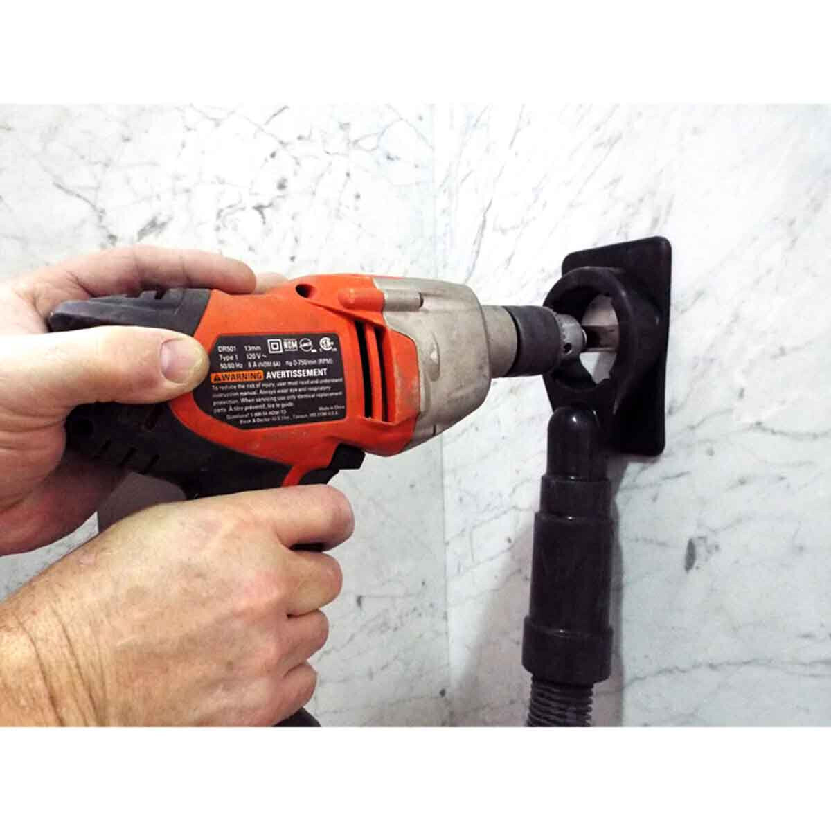 Dry Drilling Granite with EcoGuard CD
