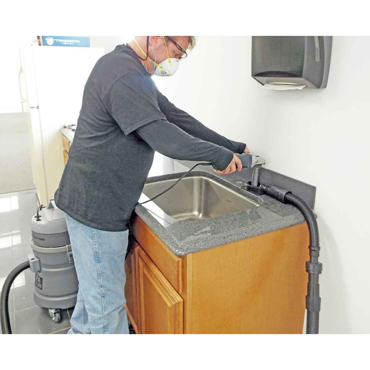 Wet Drilling Sink Holes with EcoGuard CD
