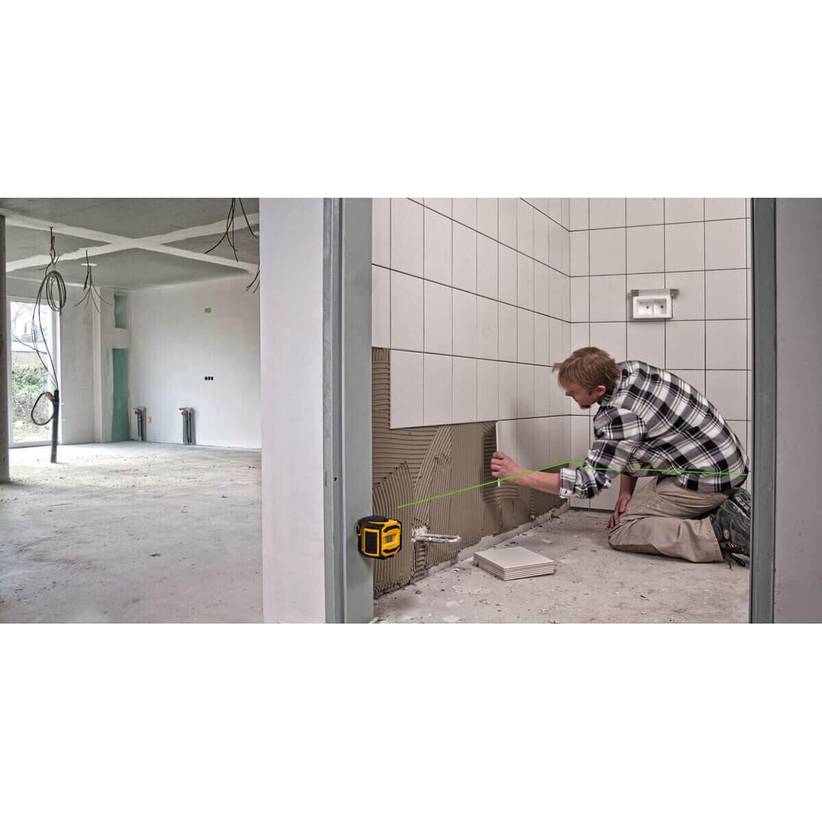 Stabila Cross Line Laser for Tile Layout